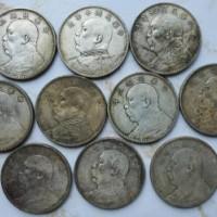 湖北银元回收公司高价回收袁大头小头白银等古币