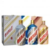 青岛哪里高价回收羊年马年生肖茅台酒瓶盒子多少钱一套呢