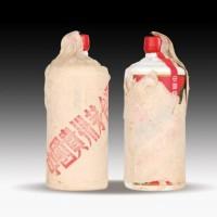 邢台回收80年代茅台酒 86年红颜色铁盖茅台酒大概啥价位