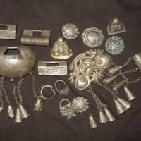 上海老银器首饰回收 上海老黄铜手炉回收 上海老锡壶收购