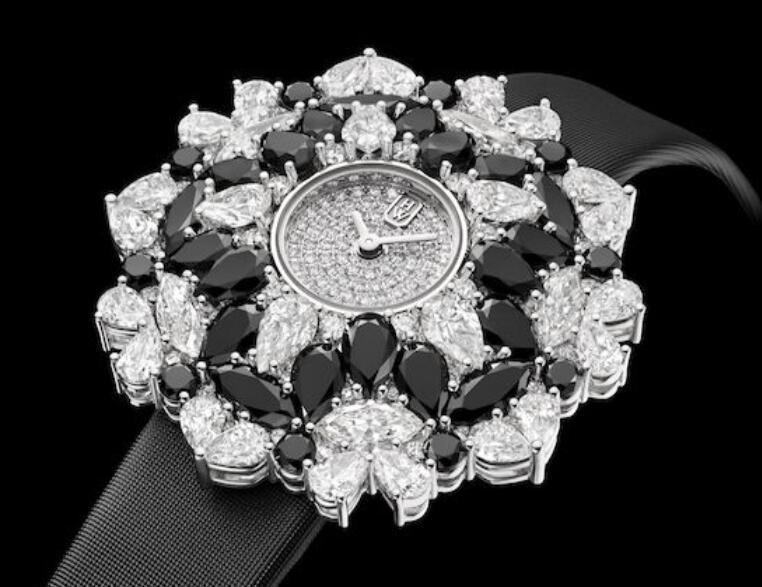 海瑞温斯顿魔镜Kaleidoscope高级珠宝腕表